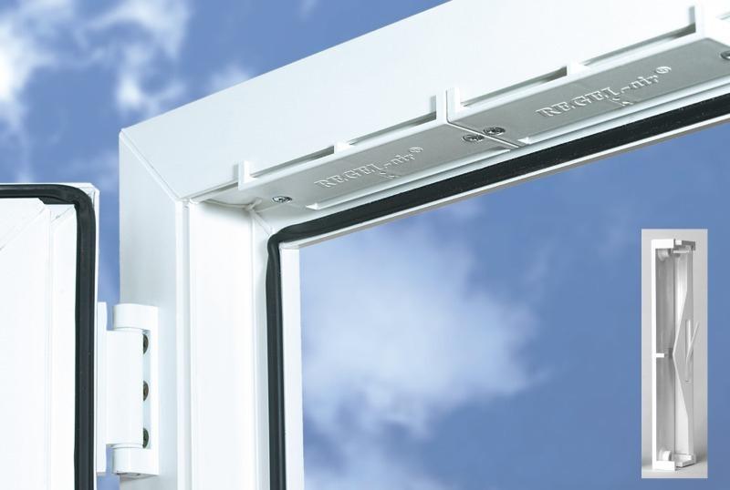 Клапан приточной вентиляции на пластиковые окна купить ручка пластикового окна не закрывается